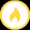 Flanschen-T DN 50/50 PN 5 Gas