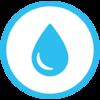 Ziffer 0 für Hydrantenschild anthrazit 25 mm