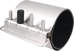 Reparaturschelle - einfach gespannt K 54 d 54 - 58 mm L = 150 mm