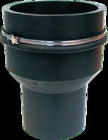 Bodenstück d 75 mm Abgang senkrecht d 75 mm