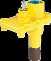 Aufschweiss-Hawlinger mit Stahlstutzen ZAK46 Gas
