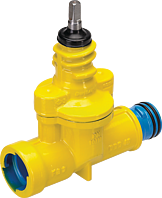 Hausanschluss-Schieber ZAK PN 5 Gas