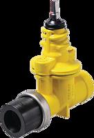 Hausanschluss-Schieber ZAK zum PE-Schweissen d 63 mm PN 5 Gas