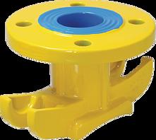 Universal-Anbohrschelle DN 65-500 PN 5 Gas mit Flanschabgang DN 40