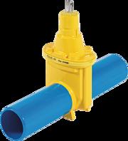 Spitzend-Schieber DN 80 d 98 mm L = 600 mm PN 5 Gas