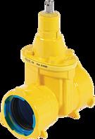 Steckmuffen-Schieber BAIO DN 80 d 98 mm PN 5 Gas