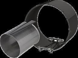 Stützhülse INOX zweiteilig d 75 x 4.5 mm SDR 17