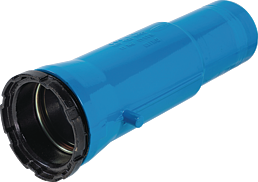 Einbauschlaufe mit Schraubmuffen DN 80 d 98 mm