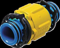 Spitzend-Verbinder drehbar ZAK PN 5 Gas