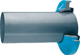 Zweikammer-Flansch für Stahlrohre DN 50 d 56 mm