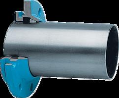 Zweikammer-Flansch für Stahlrohre schubsicher DN 50 d 60 mm