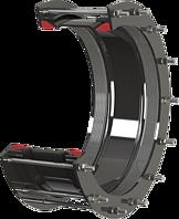 Verbinder HAWLE-LARGESIZE nicht längskraftschlüssig DN 350 d =340 - 370 mm PN 16