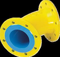 Flanschen-Bogen 45° DN 50 PN 5 Gas