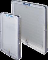 LED-Unterwasserleuchte gross 350/350 mm