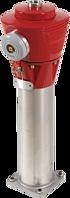 Hydrant - Oberteil H4 INOX Rubinrot RAL 3003