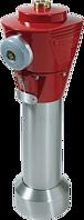 Hydrant H4-HV Oberteil INOX Rot/Rot