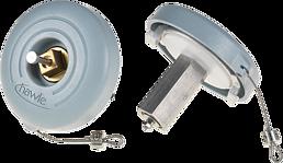 Verschlusskappe Storz 75, spezial zu H4 Hydrant mit 2 Anschlüssen