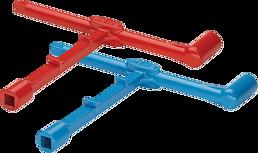 Hydrantenschlüssel mit Storz rot