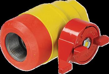 Ball valves, flaps