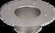 Bodenstück INOX d 50 mm AD 200 mm ID 71 mm inkl. Befestigungsmaterial
