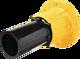 Flansch mit PE-Anschweissende DN 50 PE d 63 mm PN 5 Gas