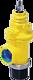 Hausanschluss-Eckventil ZAK zum PE-Schweissen d 63 mm PN 5 Gas