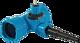 Combi-T BAIO Abgang PE-Anschweissende universal DN 100 PE d 63-50-40 mm