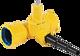 Combi-T BAIO Abgang PE-Anschweissende universal DN 100 PE d 63-50-40 mm PN 5 Gas