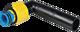 PE-Anschweissende 90° mit ZAK-Anschluss d 32 mm PN 5 Gas