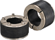Dichtungs-Pressringe innen/aussen für Trockeneinbau PE d 32 - 40 mm d 100/53 mm u. 100/60 mm Wasser