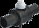 PE-Einschweiss-Kugelhahn PEK DN 15 d 20 mm PN 10 Gas
