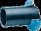 Zweikammer-Flansch für Gussrohre DN 65 d 82 mm