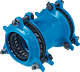 Verbinder HAWLE-SYNOFLEX DN 40 (46 - 58 mm)