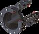 Kupplung zweiteilig HAWLE-DUOFIT gerade DN 300 d = 320 - 350 mm