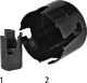HSS-Fräser für Kunststoff-Rohre PE/PVC d 25 mm Typ 1