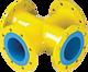 Flanschen-Kreuz DN 80 PN 5 Gas (PN 16)