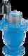 Be- und Entlüftungsventil DN 150 PN 16 0.2 - 6 bar