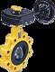 Absperrklappe Z014-A DN 40 PN 16 mit Getriebe PN 5 Gas