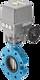 Absperrklappe mit Elektroantrieb 24 VDC Typ LT/EQ DN 40 PN 10/16