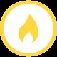 Flanschen-Bogen 90° DN 50 PN 5 Gas