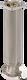 Unterteil H4 INOX - Frosttiefe 57 cm