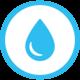 Hydranten-Hinweisschild INOX 140 x 110 mm